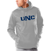 Under Armour Grey Armour Fleece Hoodie-UNC