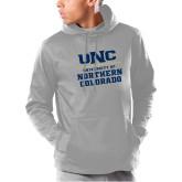 Under Armour Grey Armour Fleece Hoodie-UNC Collegiate Stacked