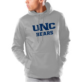 Under Armour Grey Armour Fleece Hoodie-UNC Bears Collegiate