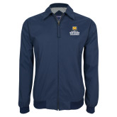 Navy Players Jacket-Northern Colorado Stacked Logo