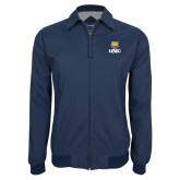 Navy Players Jacket-UNC Bear Stacked