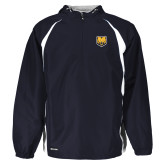 Holloway Hurricane Navy/White Pullover-UNC Bear Logo
