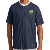 New Era Navy Diamond Era Jersey-UNC Bear Logo
