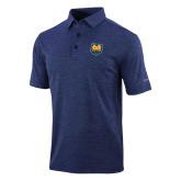 Columbia Navy Omni Wick Sunday Golf Polo-UNC Bear Logo