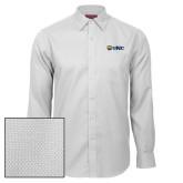 Red House White Diamond Dobby Long Sleeve Shirt-UNC Bears