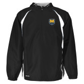 Holloway Hurricane Black/White Pullover-UNC Bear Logo