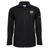 Columbia Ascender Softshell Black Jacket-UNC Bear Logo