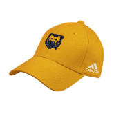 Adidas Gold Structured Adjustable Hat-UNC Bear Logo