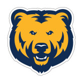 Small Magnet-UNC Bear Logo, 6 inches wide