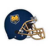 Football Helmet Magnet-UNC Bear Logo, 6 inches wide