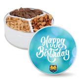 Deluxe Mix Happy Birthday Tin-UNC Bear Logo