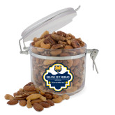 Deluxe Nut Medley Round Canister-UNC Bear Logo