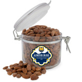 Almond Bliss Round Canister-UNC Bear Logo