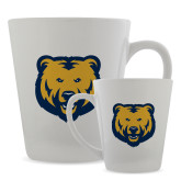 Full Color Latte Mug 12oz-UNC Bear Logo