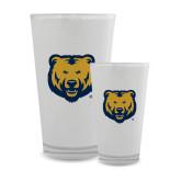 Full Color Glass 17oz-UNC Bear Logo