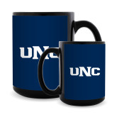 Full Color Black Mug 15oz-UNC