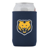 Neoprene Navy Can Holder-UNC Bear Logo