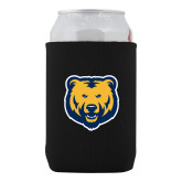 Neoprene Black Can Holder-UNC Bear Logo