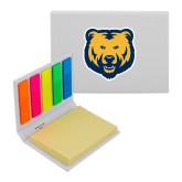 Micro Sticky Book-UNC Bear Logo