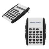 White Flip Cover Calculator-UNC Wordmark