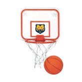 Mini Basketball & Hoop Set-UNC Bear Logo