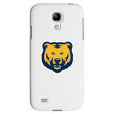 White Samsung Galaxy S4 Cover-UNC Bear Logo