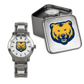 Mens Stainless Steel Fashion Watch-UNC Bear Logo