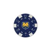 Blue Game Chip-UNC Bear Logo