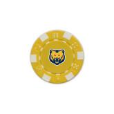 Gold Game Chip-UNC Bear Logo