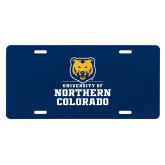 License Plate-Northern Colorado Stacked Logo