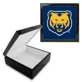 Ebony Black Accessory Box With 6 x 6 Tile-UNC Bear Logo