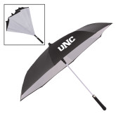 48 Inch Auto Open Black/White Inversion Umbrella-UNC