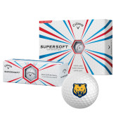 Callaway Supersoft Golf Balls 12/pkg-UNC Bear Logo