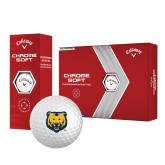 Callaway Chrome Soft Golf Balls 12/pkg-UNC Bear Logo