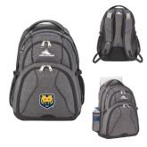 High Sierra Swerve Graphite Compu Backpack-UNC Bear Logo