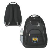 The Ultimate Black Computer Backpack-UNC Bear Logo