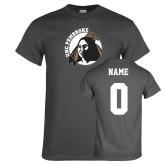 Charcoal T Shirt-Primary Mark, Custom Tee w/ Name and #