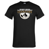 Black T Shirt-2017 Peach Belt Conference Womens Soccer