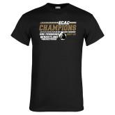 Black T Shirt-ECAC Wrestling Champions