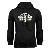 Black Fleece Hoodie-Peach Belt Champions