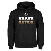 Black Fleece Hoodie-Brave Nation