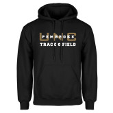 Black Fleece Hoodie-Track and Field