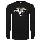 Black Long Sleeve T Shirt-2018 Peach Belt Cross Country Champions