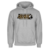 Grey Fleece Hoodie-2017 Peach Belt Conference Mens Outdoor Track and Field