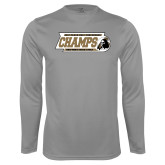 Syntrel Performance Steel Longsleeve Shirt-2017 Peach Belt Conference Mens Outdoor Track and Field