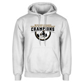 White Fleece Hoodie-2017 Peach Belt Conference Womens Soccer