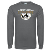 Charcoal Long Sleeve T Shirt-2017 Peach Belt Conference Womens Soccer