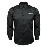 Red House Black Long Sleeve Shirt-UNC Pembroke