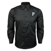 Red House Black Long Sleeve Shirt-P