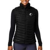 Columbia Lake 22 Ladies Black Vest-Primary Mark
